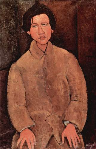 Modigliani - Portrait of Chaiim Soutine [2]